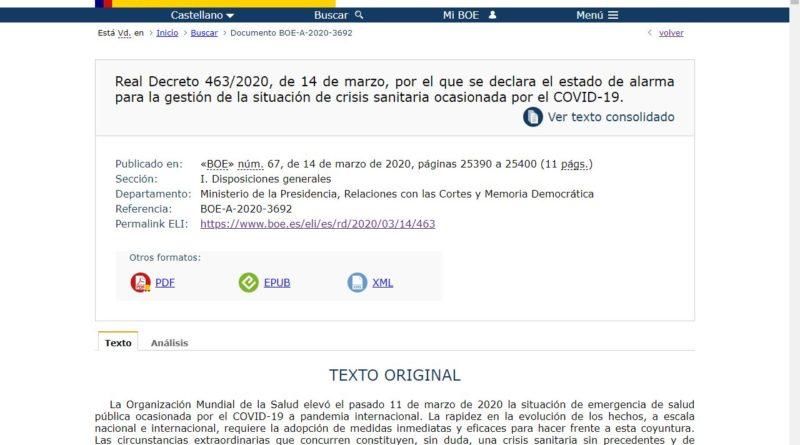 https://www.boe.es/eli/es/rd/2020/03/14/463
