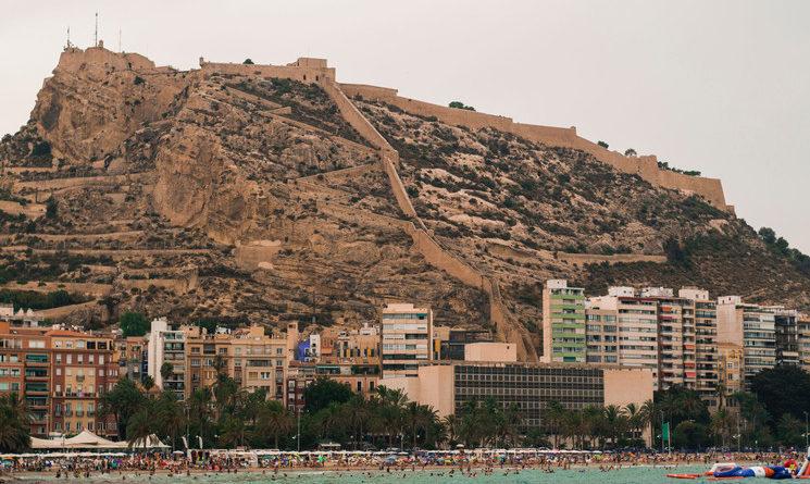 Castillo de Santa Bárbara, Alicante