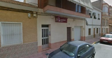 Vivienda situada en el numero 26 de la calle Reyes Católicos de San Vicente del Raspeig, donde tuvo lugar el suceso