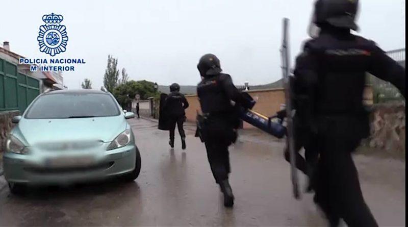 La Policía Nacional han desarticulado uno de los mayores entramados criminales dedicado a la importación de heroína