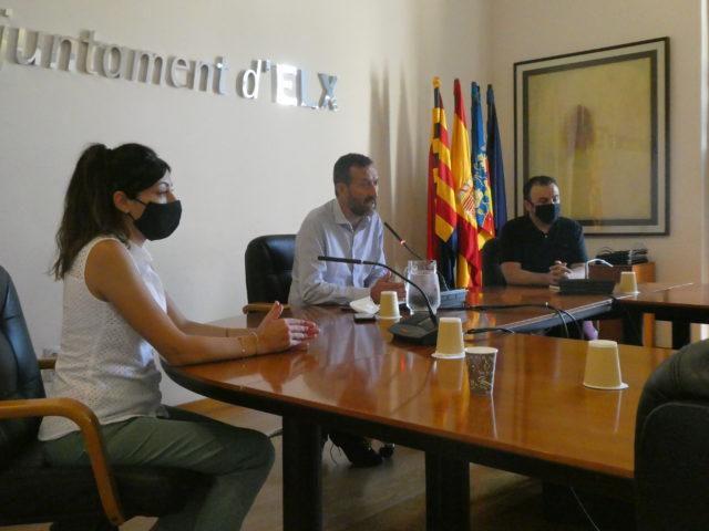 """El alcalde alerta de un """"riesgo cierto de agravamiento de la pandemia"""" en Elche"""