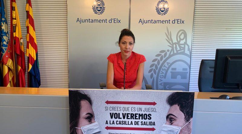 El Ayuntamiento de Elche insiste en el uso de las mascarillas como principal freno a la expansión del virus