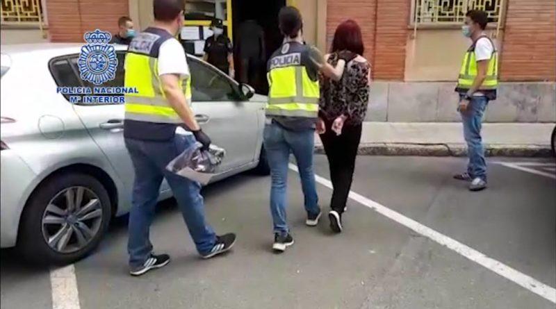 La Policía Nacional detiene a un matrimonio como presuntos coautores del asesinato de una mujer con discapacidad en Benidorm