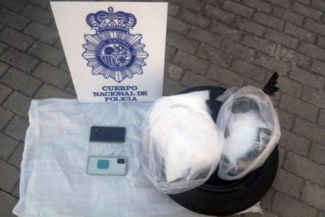 La Policía Nacional intercepta en Burgos un vehículo cargado con diez kilogramos de ketamina destinados a su distribución en nuestro país