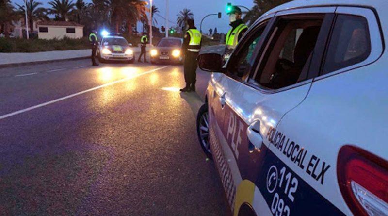 La Policía Local de Elche tramita 262 sanciones por no llevar mascarilla o hacer mal uso de la misma durante el fin de semana