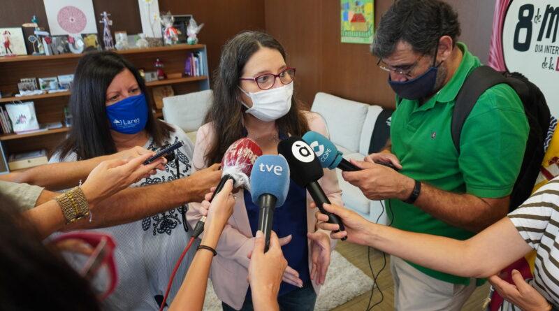 Oltra: 'Igualdad amplía las ayudas de la renta valenciana de inclusión para las mujeres víctimas de explotación sexual'