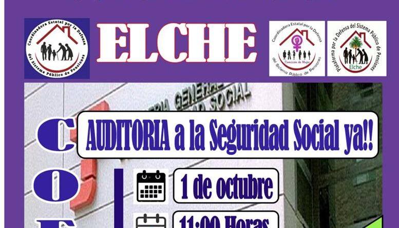 Acciones día 1 de octubre Día Internacional de las Personas de Edad en Elche