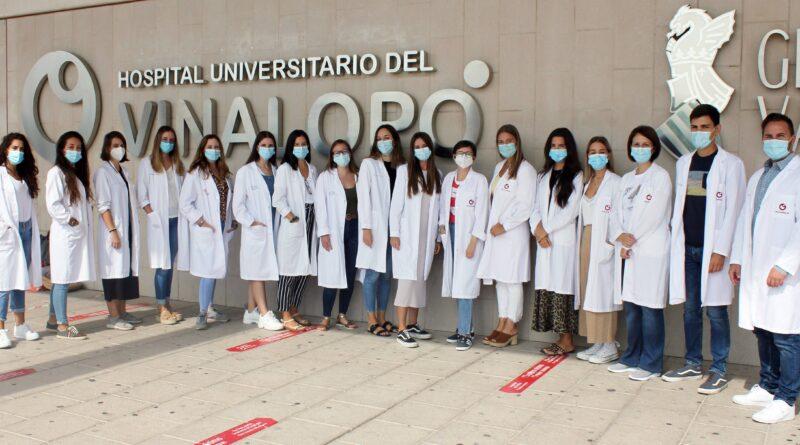Ribera Salud da la bienvenida a los primeros MIR que comienzan su formación en el Departamento de Salud del Vinalopó