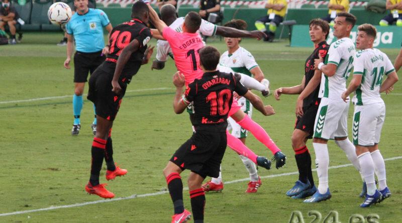 ELCHE CF | Derrota del Equipo Ilicitano ante el Real Sociedad por 0-3