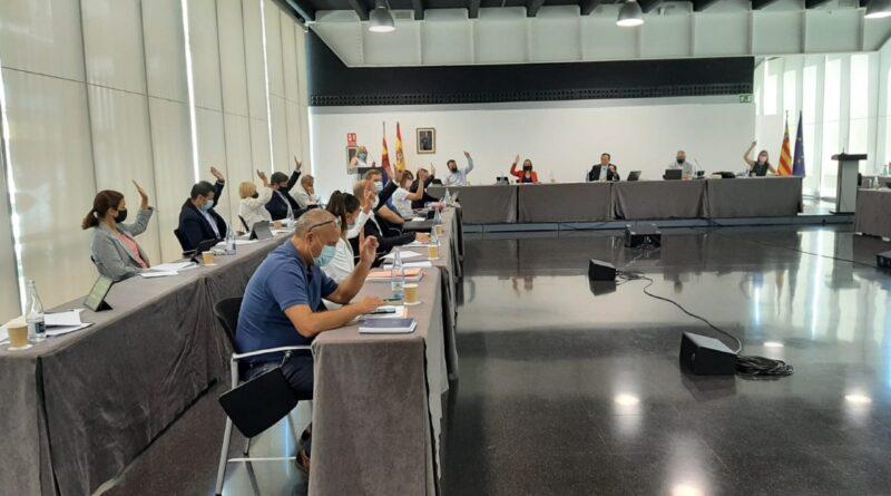 Los grupos políticos del Ayuntamiento de Elche rechazan por unanimidad el anteproyecto de Ley de Aguas de Castilla-La Mancha que prevé recortar el Trasvase
