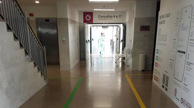 Ribera Salud refuerza la seguridad de los circuitos de acceso en los centros de salud del Departamento de salud del Vinalopó