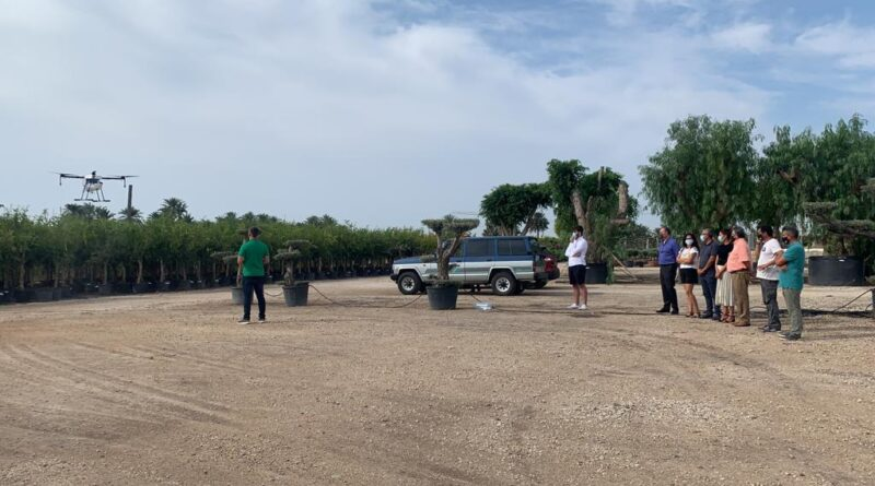 El Ayuntamiento de Elche y CTL intensifican la lucha contra los mosquitos con un nuevo equipamiento que incluye un dron y un cañón de gran potencia