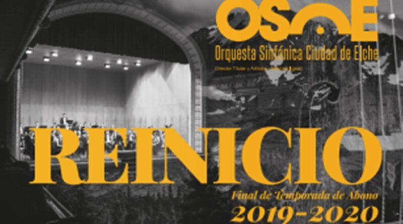 Cultura presenta los tres últimos conciertos de la temporada de la OSCE con la mitad del aforo en el Gran Teatro de Elche
