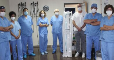 El equipo de la Unidad de Endoscopia Digestiva (Foto. Hospital General Universitario de Alicante)