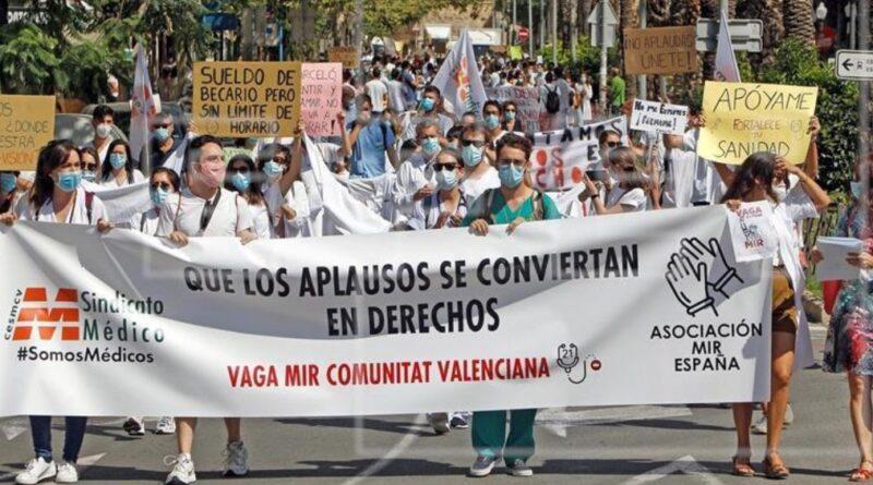 Los MIR advierten: «Queremos reunirnos con Illa, si no, convocaremos huelgas por todo el país»