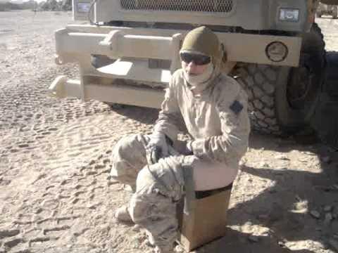 ¿Cómo y dónde los soldados hacen sus «necesidades» durante el combate?