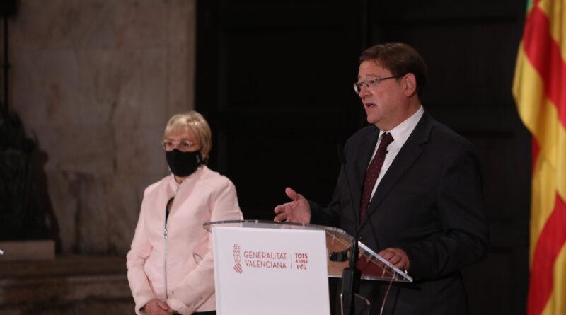 Ximo Puig encarga a la Abogacía de la Generalitat y a la Conselleria de Sanidad que definan el marco legal que permita aplicar un confinamiento nocturno para proteger la salud de la ciudadanía