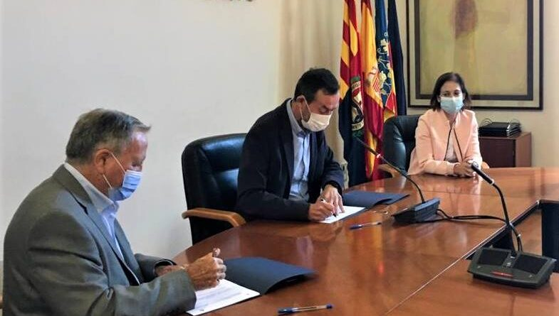 El Ayuntamiento de Elche garantiza la conservación del patrimonio hidráulico a través de un convenio con la Acequia Mayor del Pantano