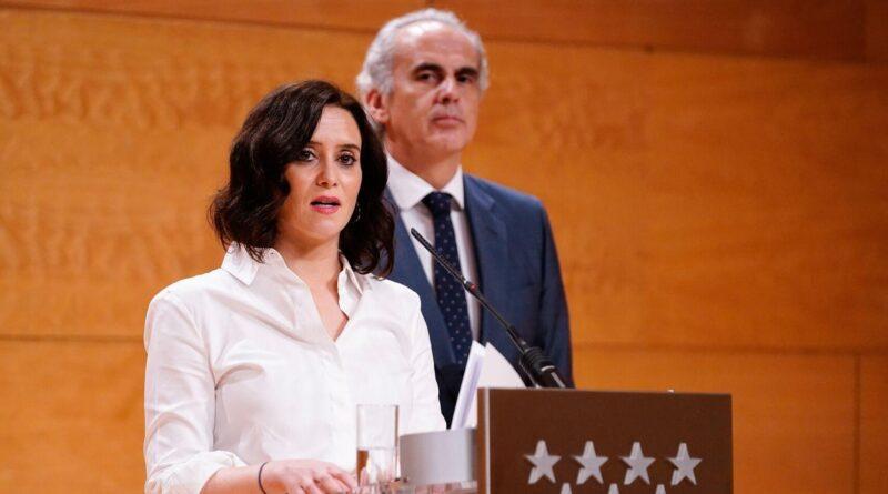 Madrid plantea pedir al Gobierno un toque de queda cuando concluya el estado de alarma