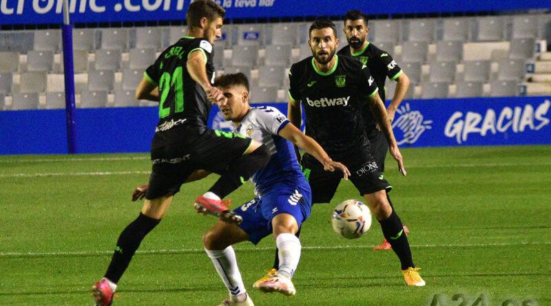 Victoria del C.E Sabadell C.F. frente al C.D. Leganés por un gol a cero 1-0