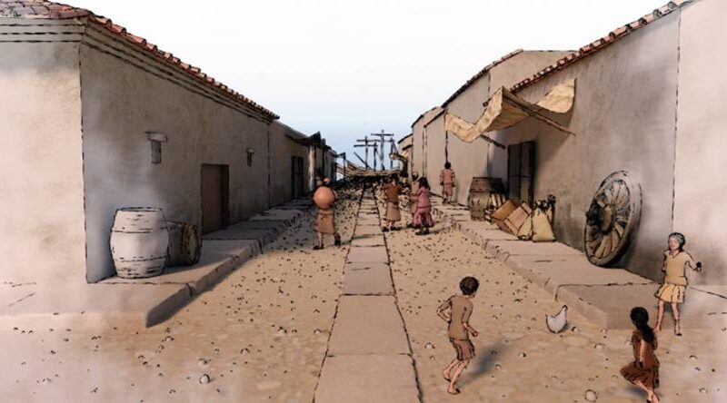 El Yacimiento Portus Ilicitanus estrena nuevo material audiovisual