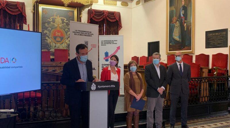 El Ayuntamiento de Elche conmemora el Día Mundial de la Lucha Contra el Sida