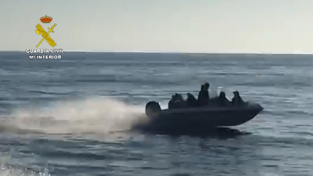 La Guardia Civil desarticula una organización criminal dedicada al tráfico de personas desde Argelia hasta España