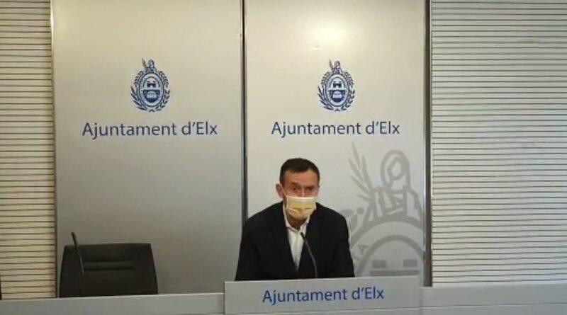 El alcalde de Elche respalda las nuevas restricciones para la Comunidad Valenciana