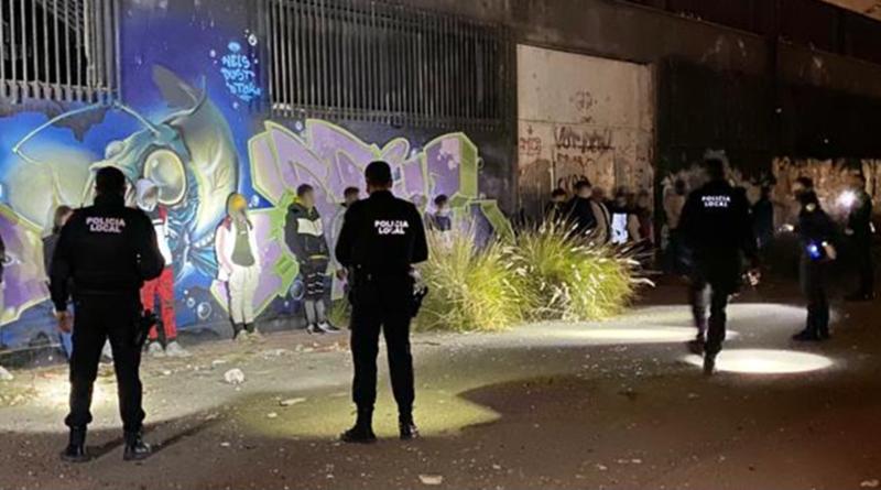 La Policía Local de Elche impone 221 denuncias en este fin de semana por infracciones a las medidas sanitarias