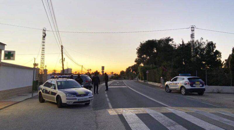 Las medidas adoptadas por la Junta Local de Seguridad de Elche dan sus frutos y desciende el número de incidencias por robos en el Camp d'Elx