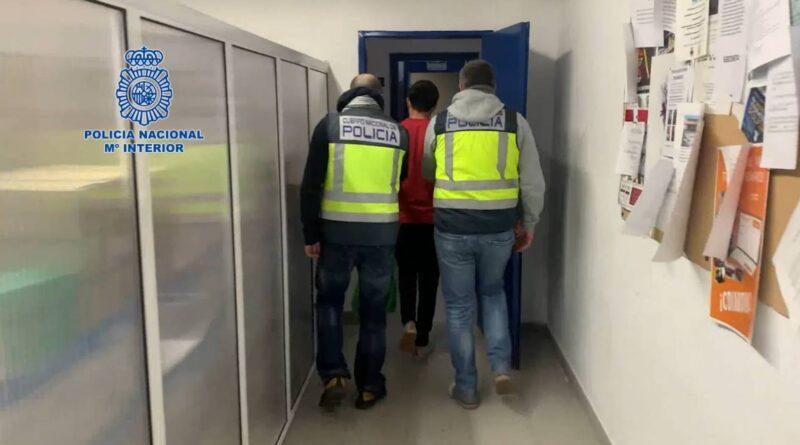 La Policía Nacional detiene en Murcia a un fugitivo buscado por agredir sexualmente a dos menores en Argentina
