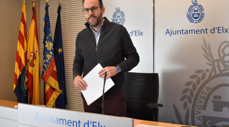 El Ayuntamiento de Elche pide alternativas a la Confederación Hidrográfica del Júcar ante la reducción de los acuíferos del Vinalopó