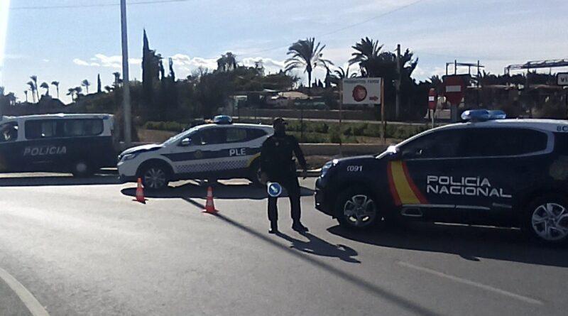 La Policía Nacional detiene en Elche a tres personas relacionadas con robos con fuerza en viviendas