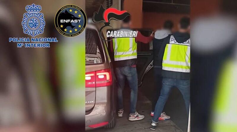 Detenido en Benidorm un fugitivo buscado en Italia por liderar una red criminal dedicada al robo con fuerza con explosivos