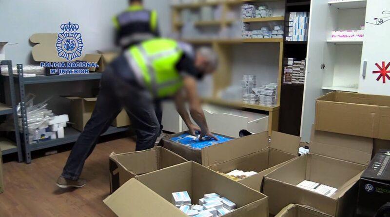 La Policía Nacional detiene a 31 personas en una operación contra la venta y distribución de anabolizantes y esteroides