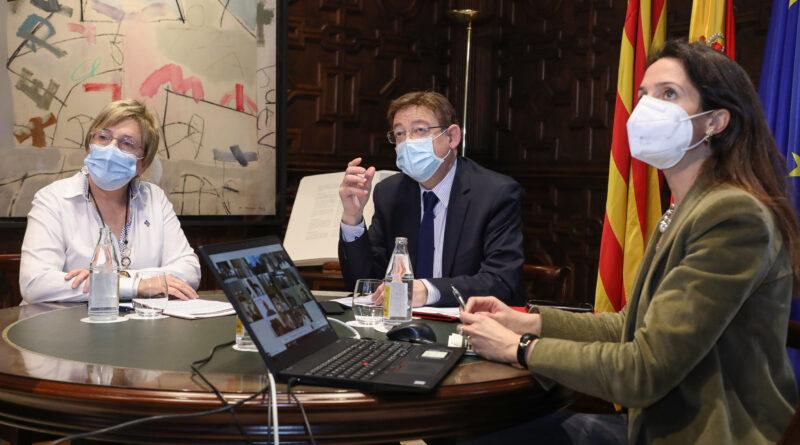 Ximo Puig destaca que la creación del Programa Valenciano de Investigación Vacunal COVID-19 'mejorará la efectividad del proceso de inmunización'