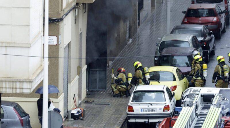ELCHE | Escandaloso Incendio de Origen Eléctrico sin Heridos