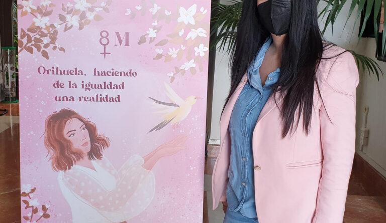 Igualdad celebra el Día Internacional de la Mujer con diferentes actividades, bajo el lema 'Orihuela, haciendo de la Igualdad una realidad'