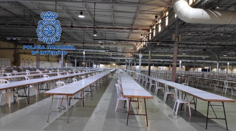 Celebración de las pruebas de acceso a la escala básica de la Policía Nacional en Alicante