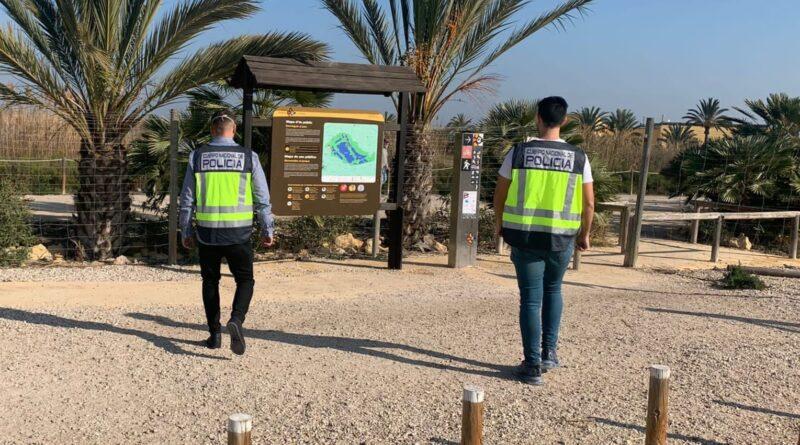 La Policía Nacional ha detenido en Elche a los responsables de varios robos ocasionados en el Parque Natural del Hondo